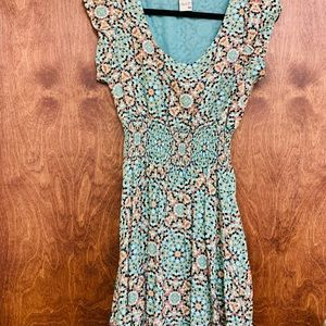 Bohemian Chic -Knee Length Dress
